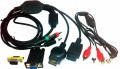 Component Cable Switch-Box 3-Port